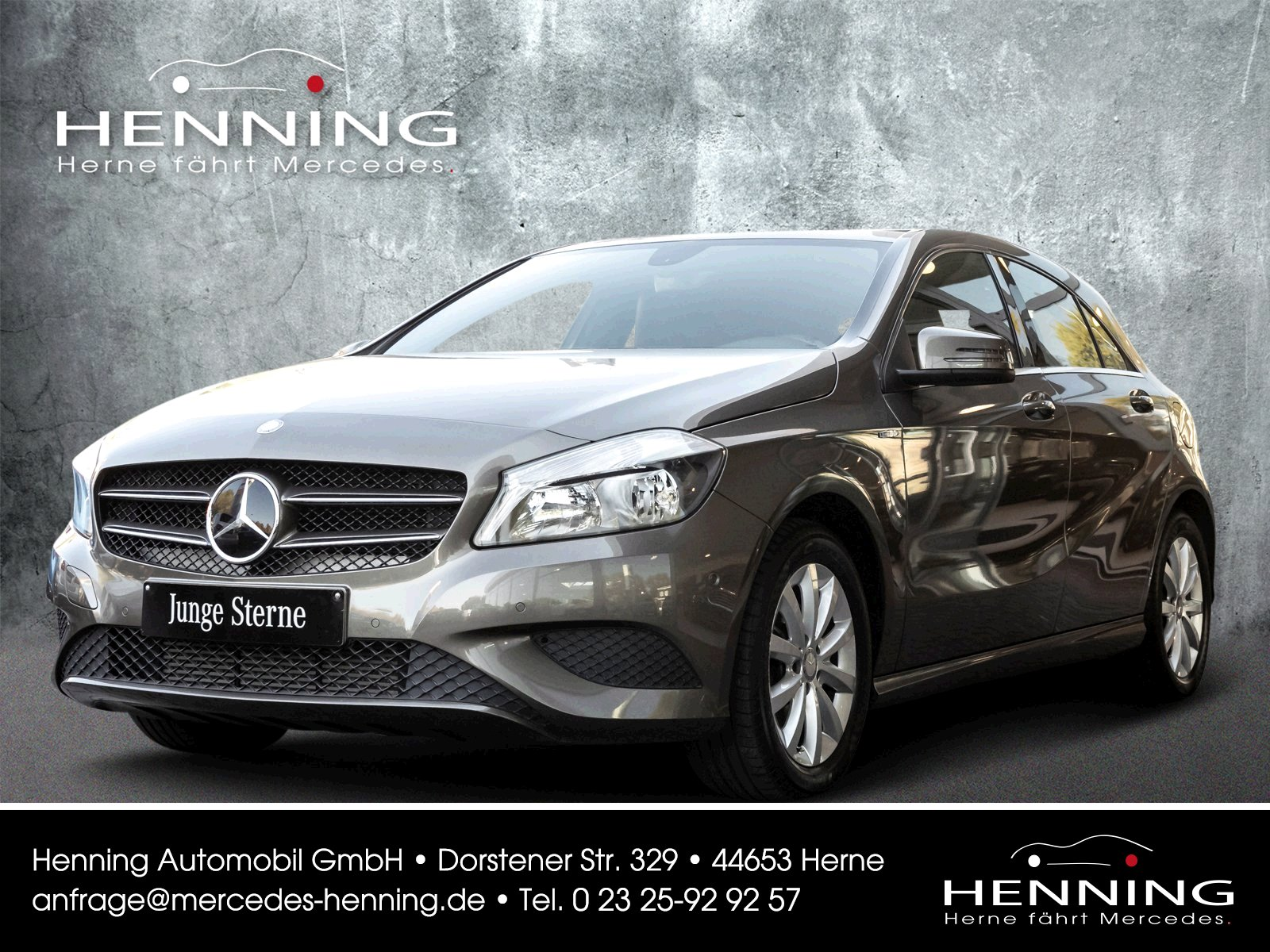 MERCEDES-BENZ A 180 BlueEFFICIENCY Limousine