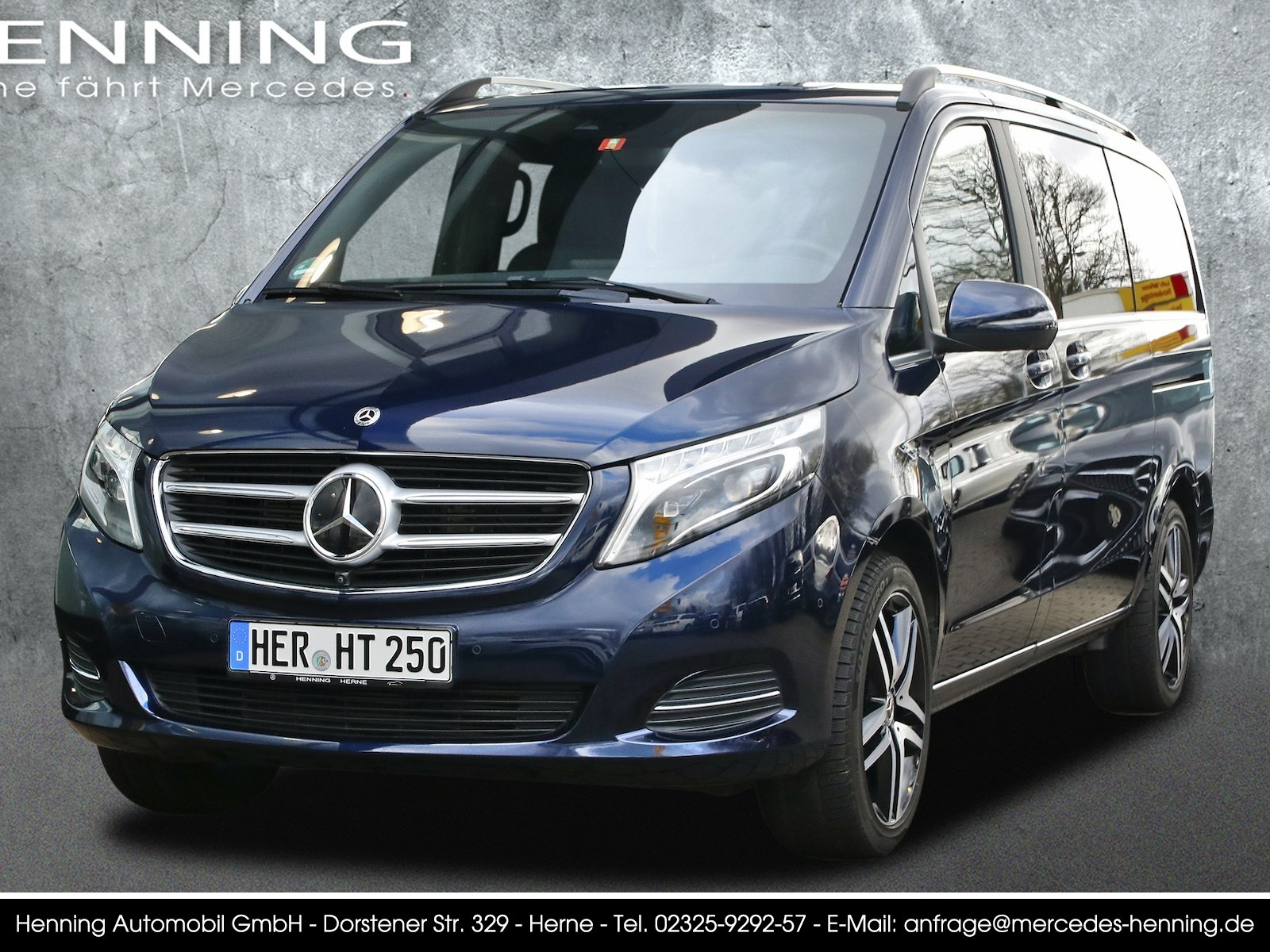 MERCEDES-BENZ 250 V d AVANTGARDE EDITION Lang 4MATIC Blau