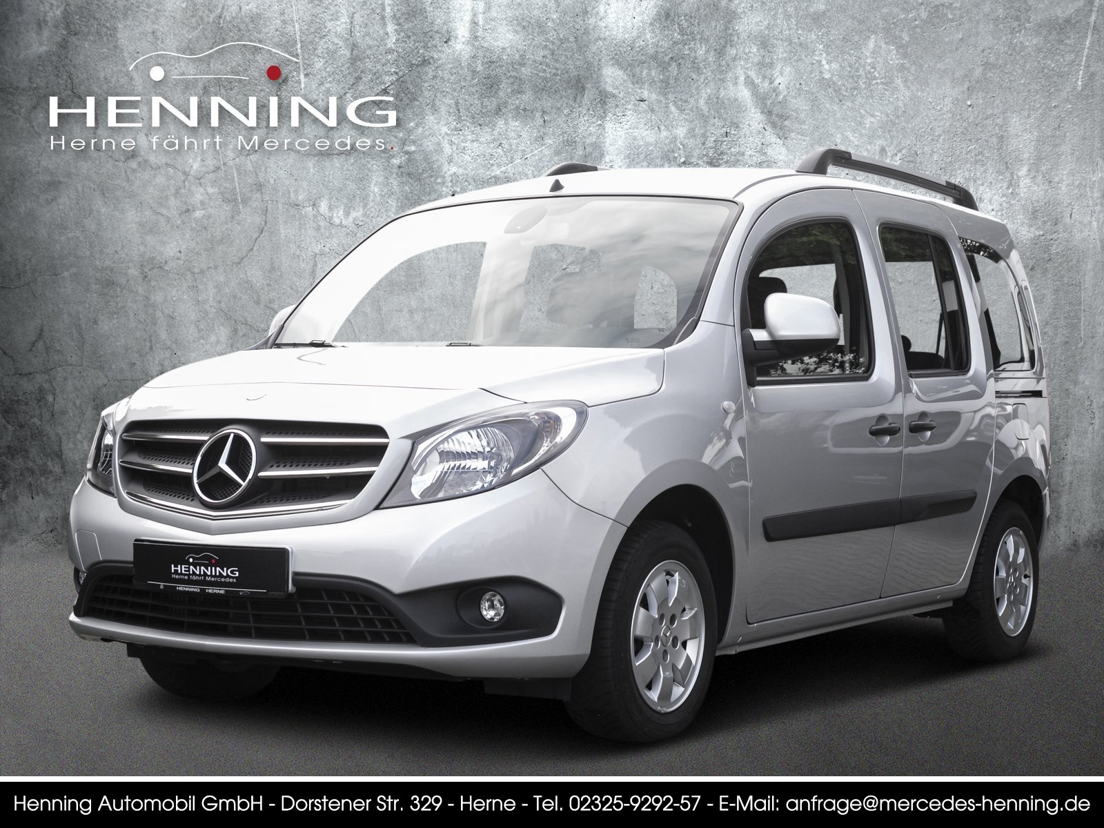 MERCEDES-BENZ 111 Citan Tourer EDITION Lang silber