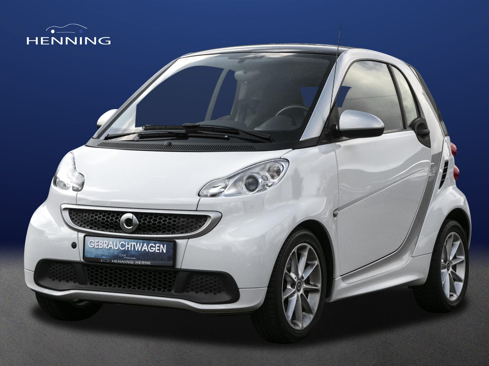 SMART fortwo coupé mhd 52 kW