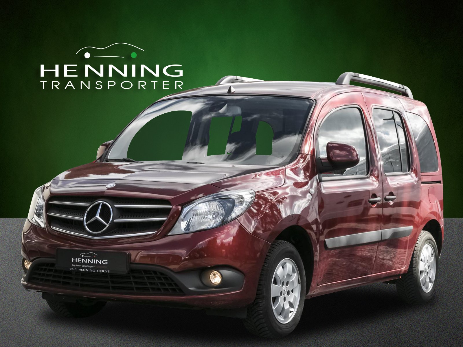 MERCEDES-BENZ 111 Citan Tourer EDITION Lang rot