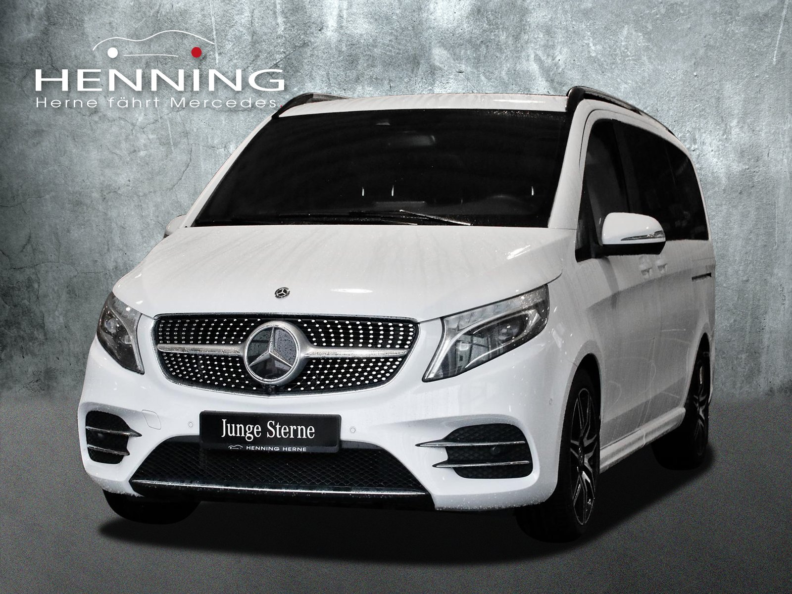 MERCEDES-BENZ 300 V d EXCLUSIVE EDITION Lang weiss