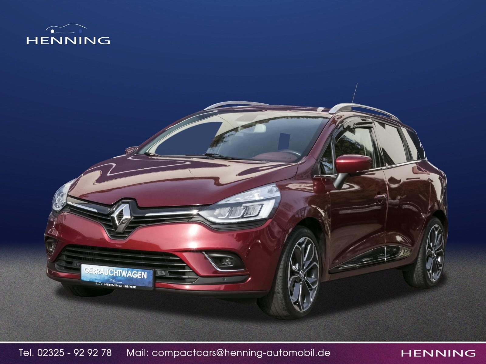 RENAULT Clio IV 1.2 TCe 120 eco² Grandtour Intens ENERGY