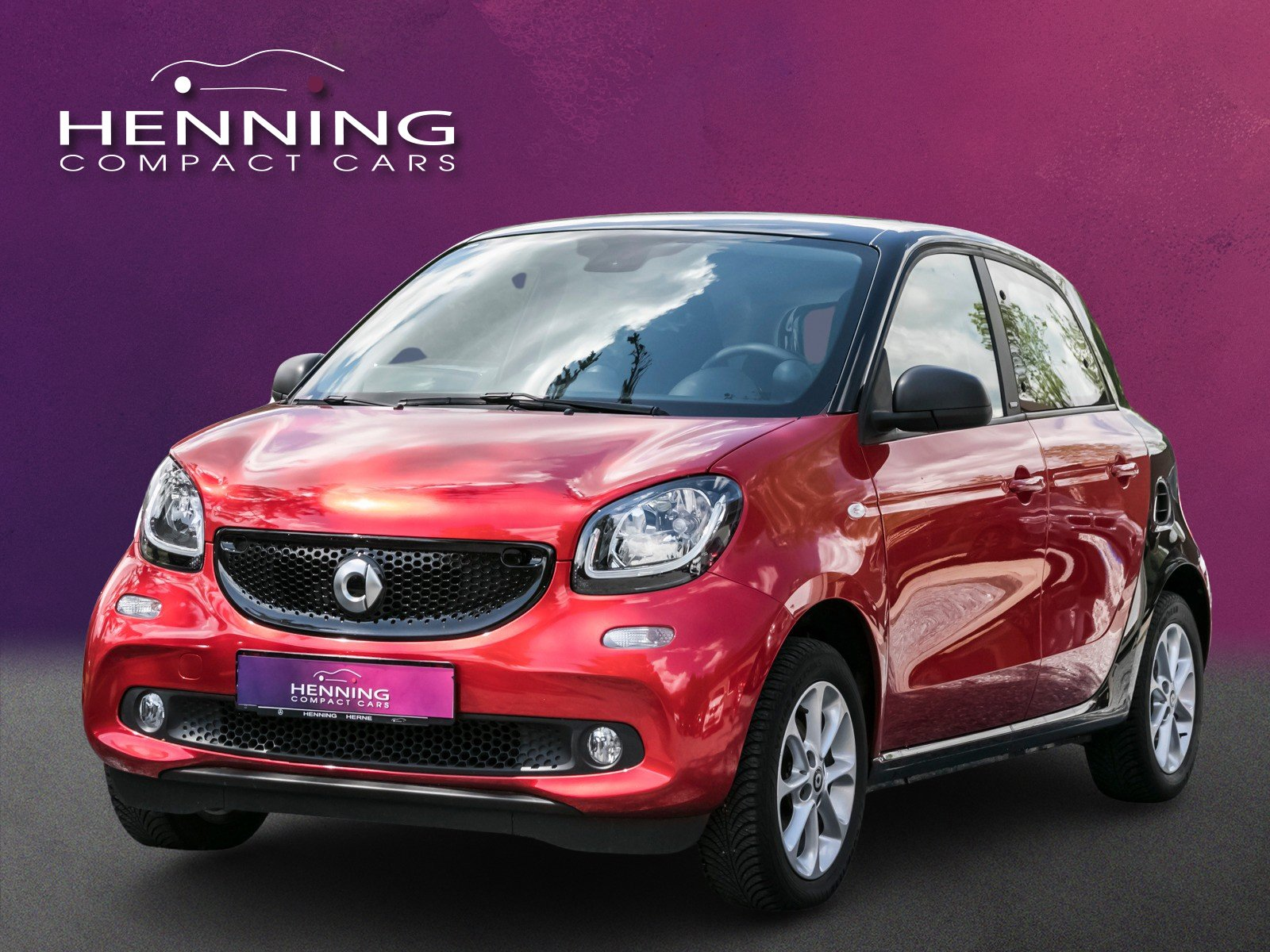 SMART smart forfour 52 KW rot