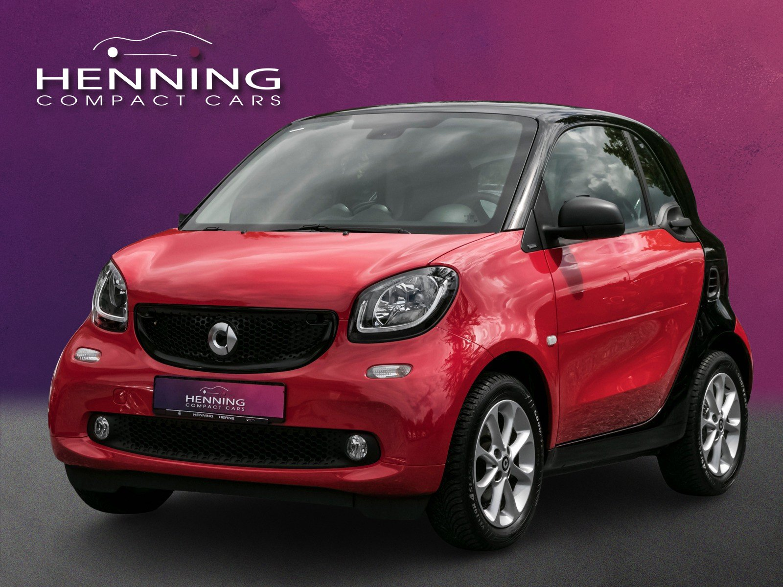 SMART smart fortwo  52 KW rot