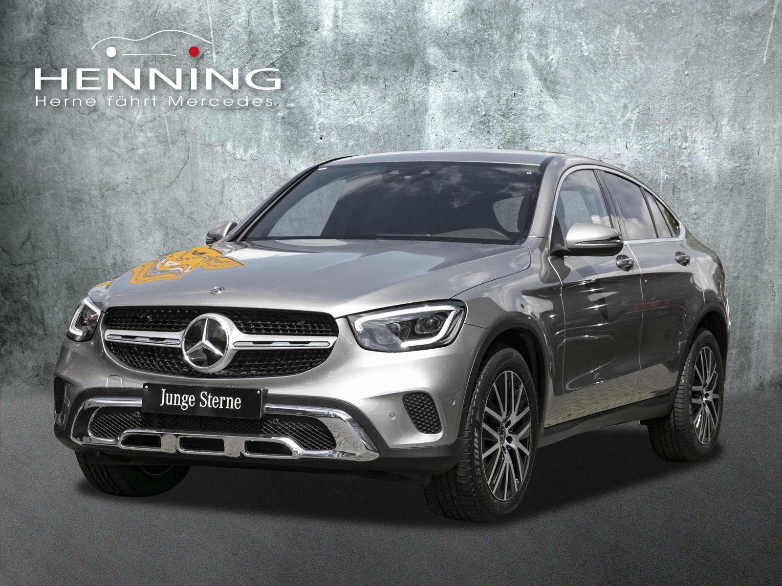 MERCEDES-BENZ GLC 300 4M Coupe