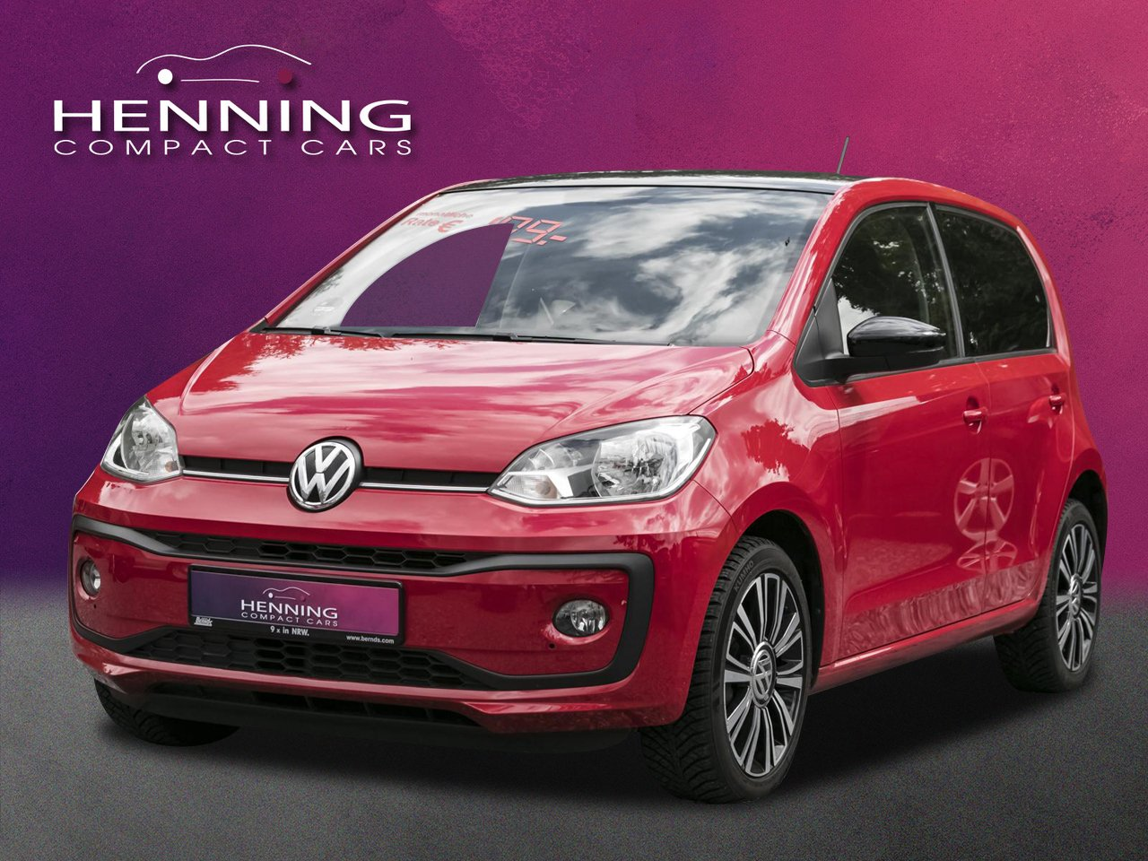 VW up! 1.0 rot