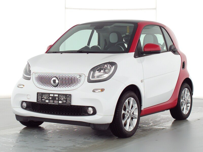 SMART smart fortwo 52 kW weiß/rot