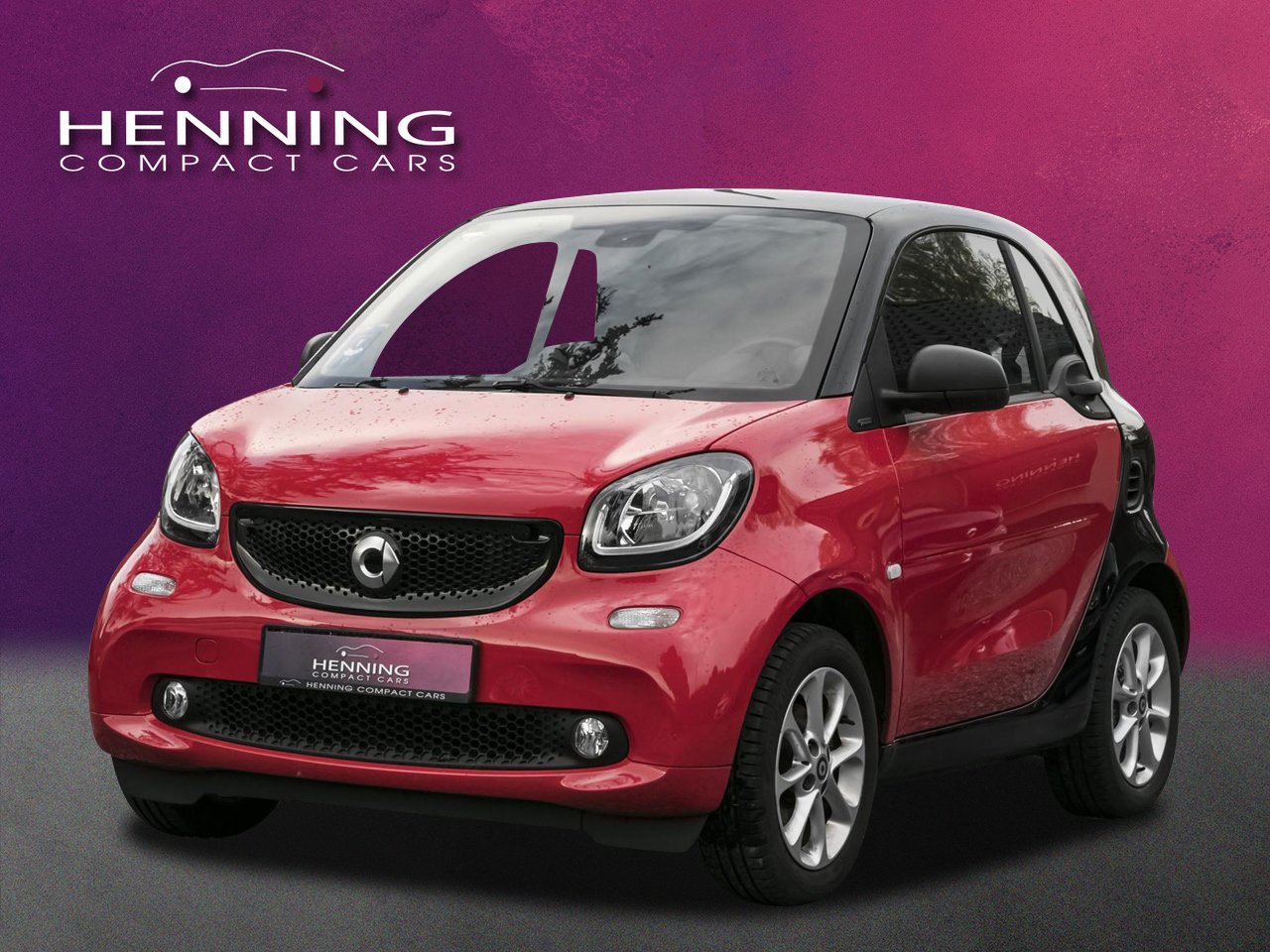 SMART smart fortwo 66 kW rot